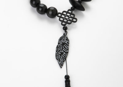 Black and White Woodedn Feather 2020